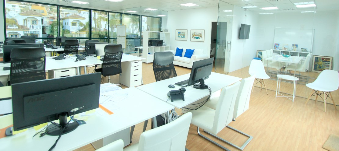 Marbella Apartments Office - Interior