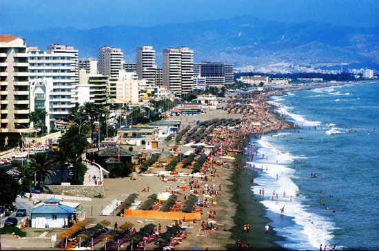 Fuengirola, beach, the Mediterranean Sea